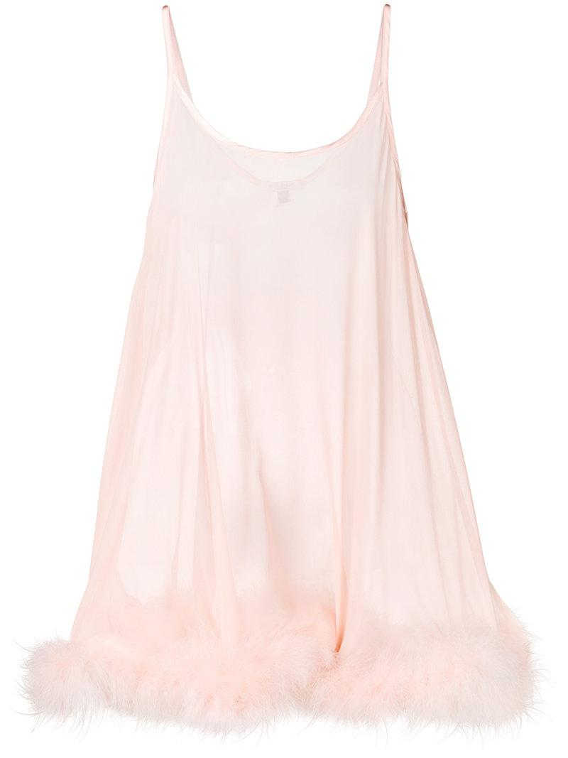 Gilda & Pearl transparent fluffy style nighwear Hot Sale Cheap Price 264KbPb
