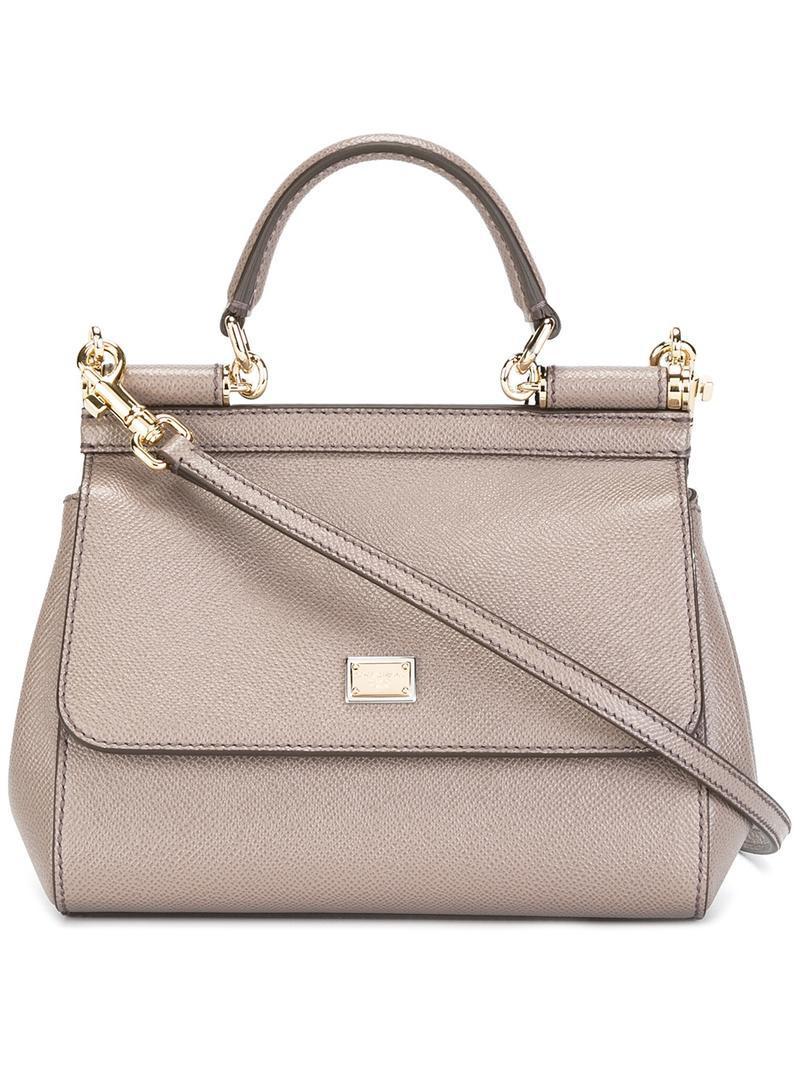 small Sicily tote - Grey Dolce & Gabbana Footlocker Finishline Online Online Shop Nicekicks Cheap Online Low Cost Online gjIxYMQI