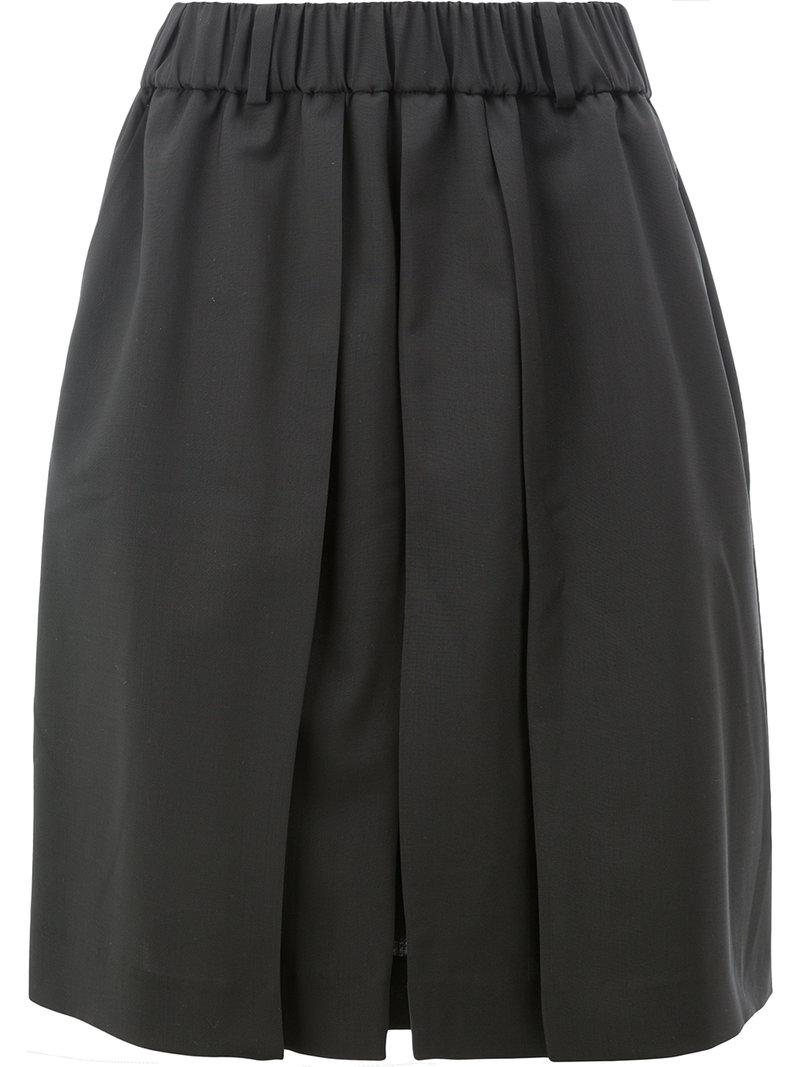 pleated shorts - Black Moohong xOAaR9