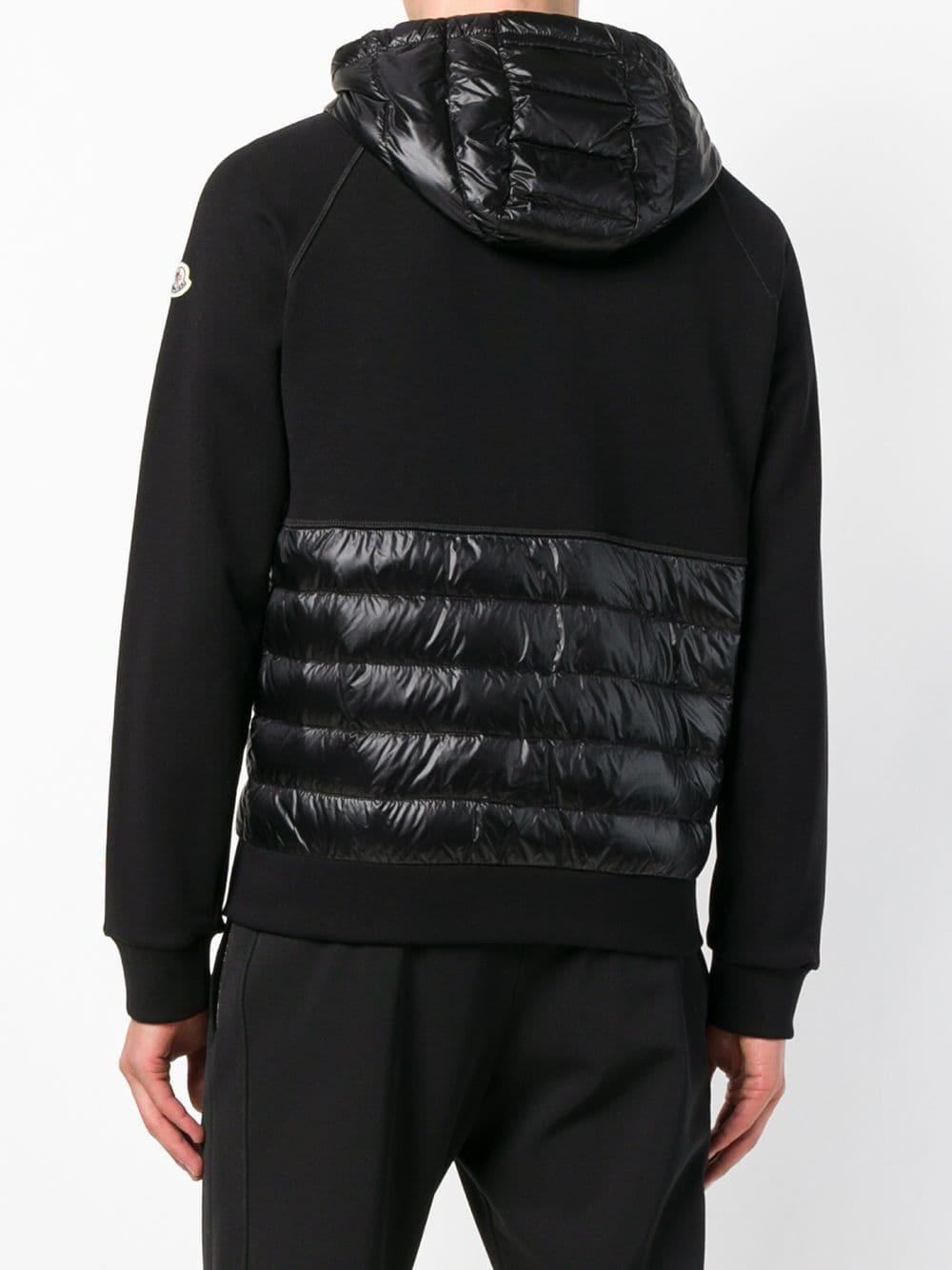 moncler padded hoodie