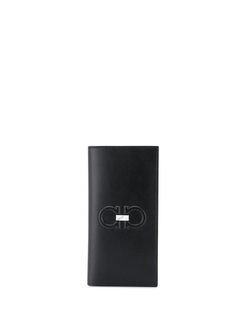 75e2bef46 Cartera con diseño vertical Ferragamo de hombre de color Negro - Lyst