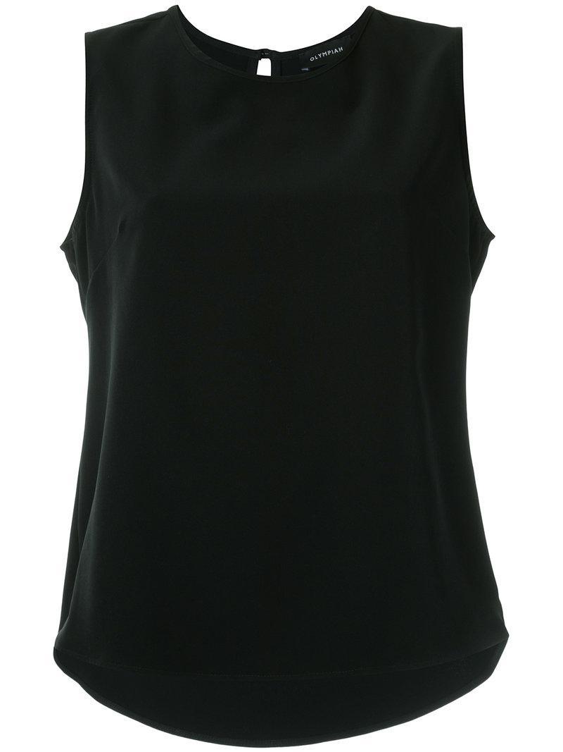 Sale Low Shipping Fee Cheap Sale Best Wholesale plain tank - Black OLYMPIAH Purchase Cheap Online IbWbv