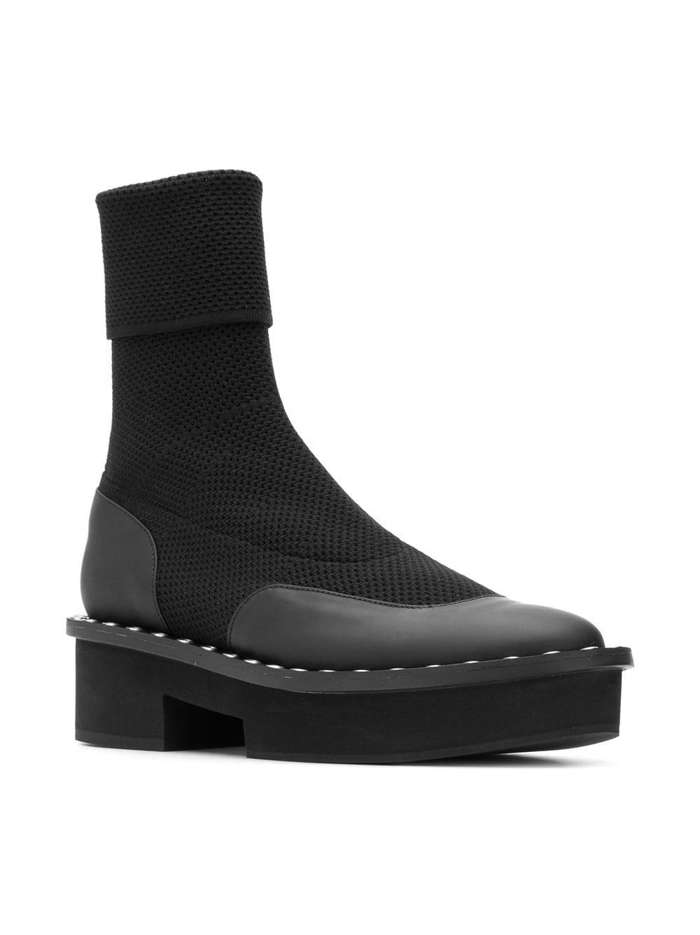 36bf899c7de Clergerie Blind Boots in Black - Lyst