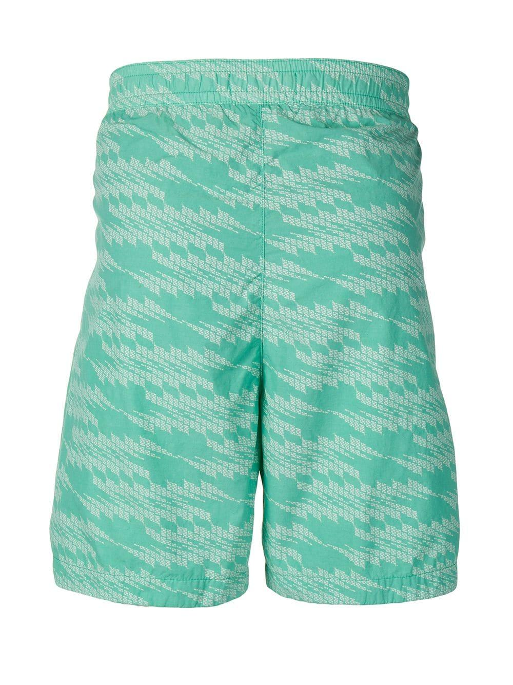 6a911ef12d Lyst - Stone Island Shadow Project Drawstring Waist Swimming Trunks in  Green for Men