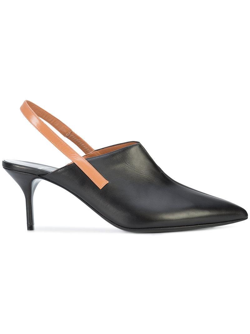 Pierre Hardy Secret leather slingback sandals YqPxm4zq