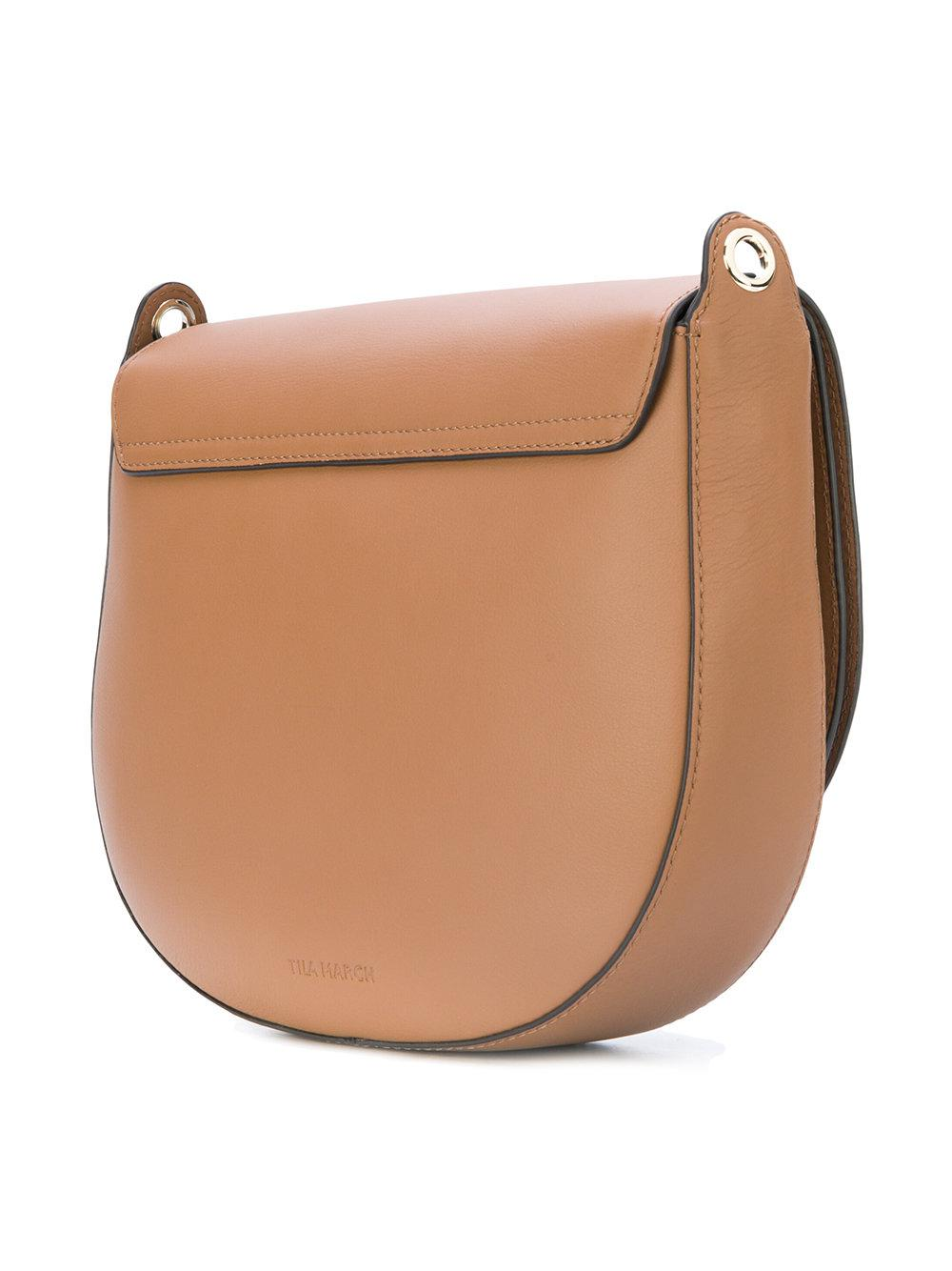 Linda March Hobo Brown Bandolera Tila Lyst qvdExUEw
