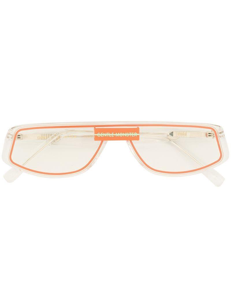 9be312e76d Gentle Monster - White Cold Glasses - Lyst. View fullscreen