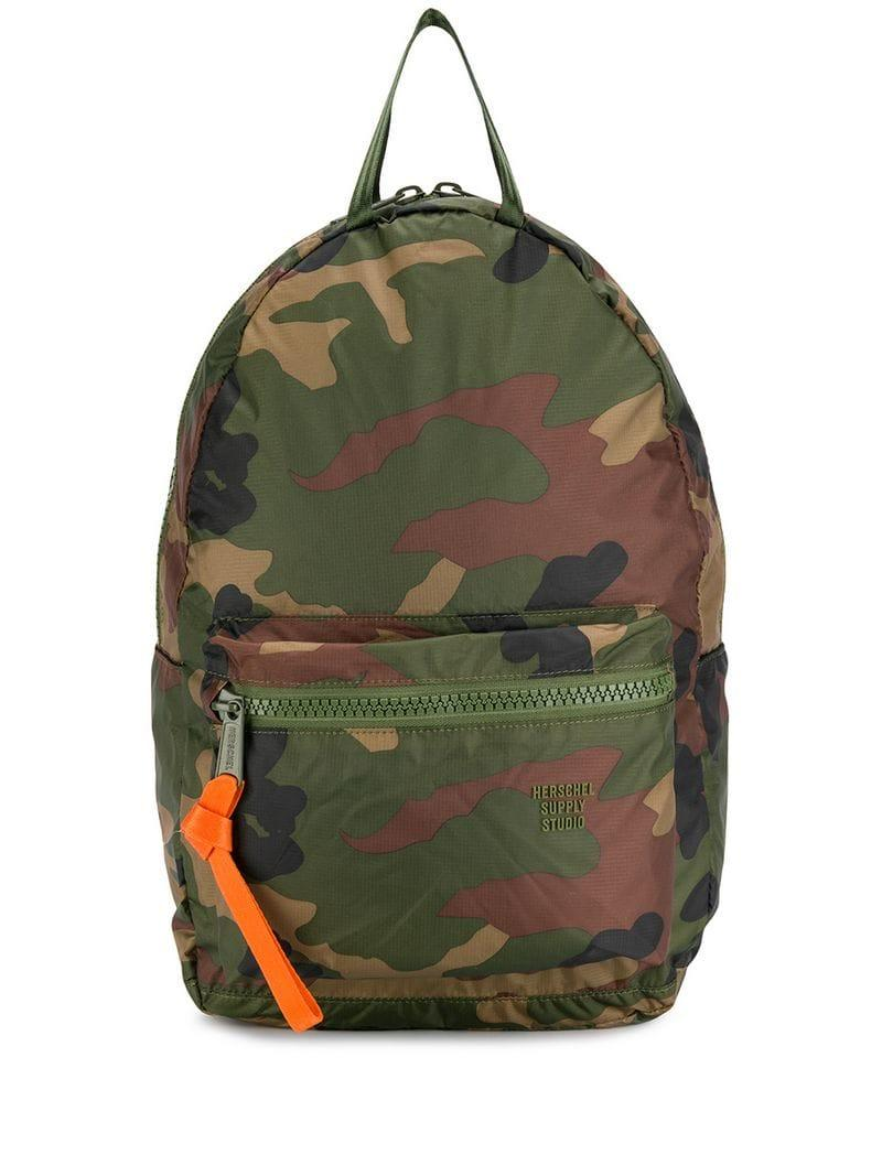 Lyst - Herschel Supply Co. Classic Camo Backpack in Green ae71d9b52e98c