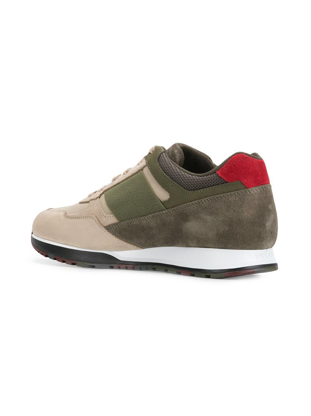 logo sneakers - Green Hogan Lv7O4DL7