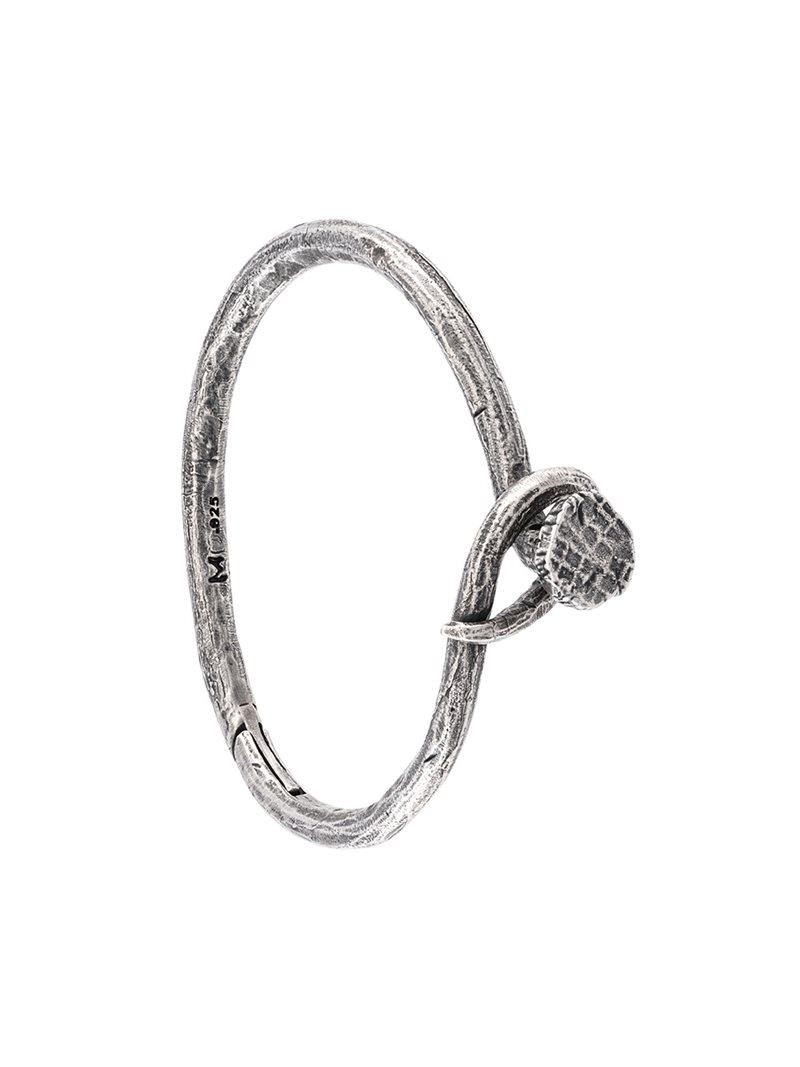 M. Cohen embossed ring - Metallic YWPX4qBp