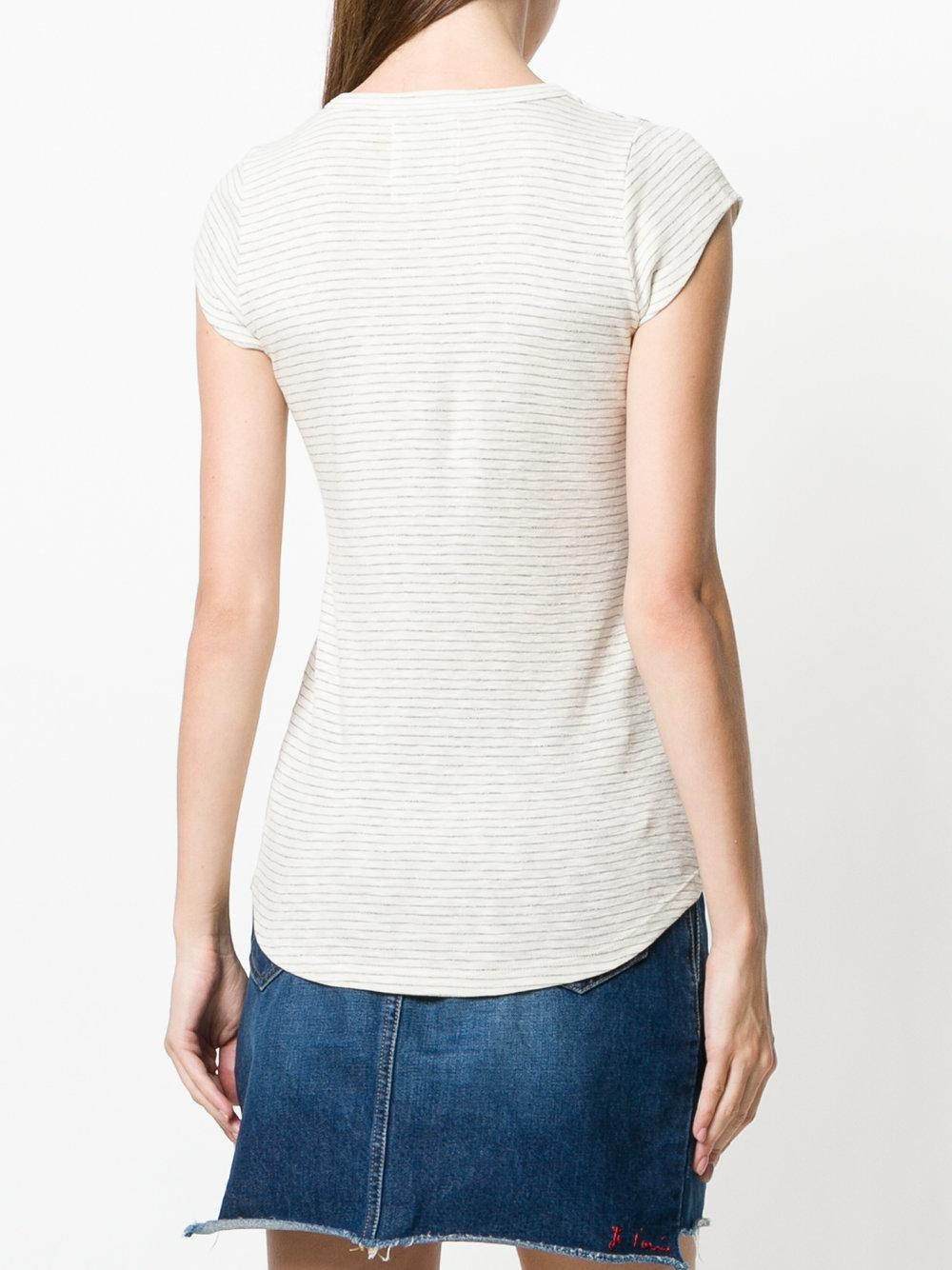 striped T-shirt - Nude & Neutrals Zoe Karssen Amazing Price Cheap Online Prices Sale Online Clearance Outlet Store buX6feUk