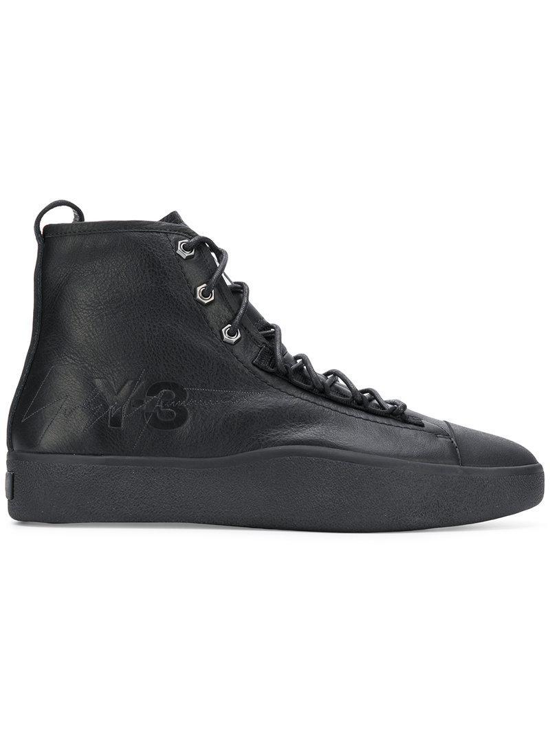 eed64ec4ac8c8 Lyst - Y-3 Bashyo Ii Sneakers in Black for Men