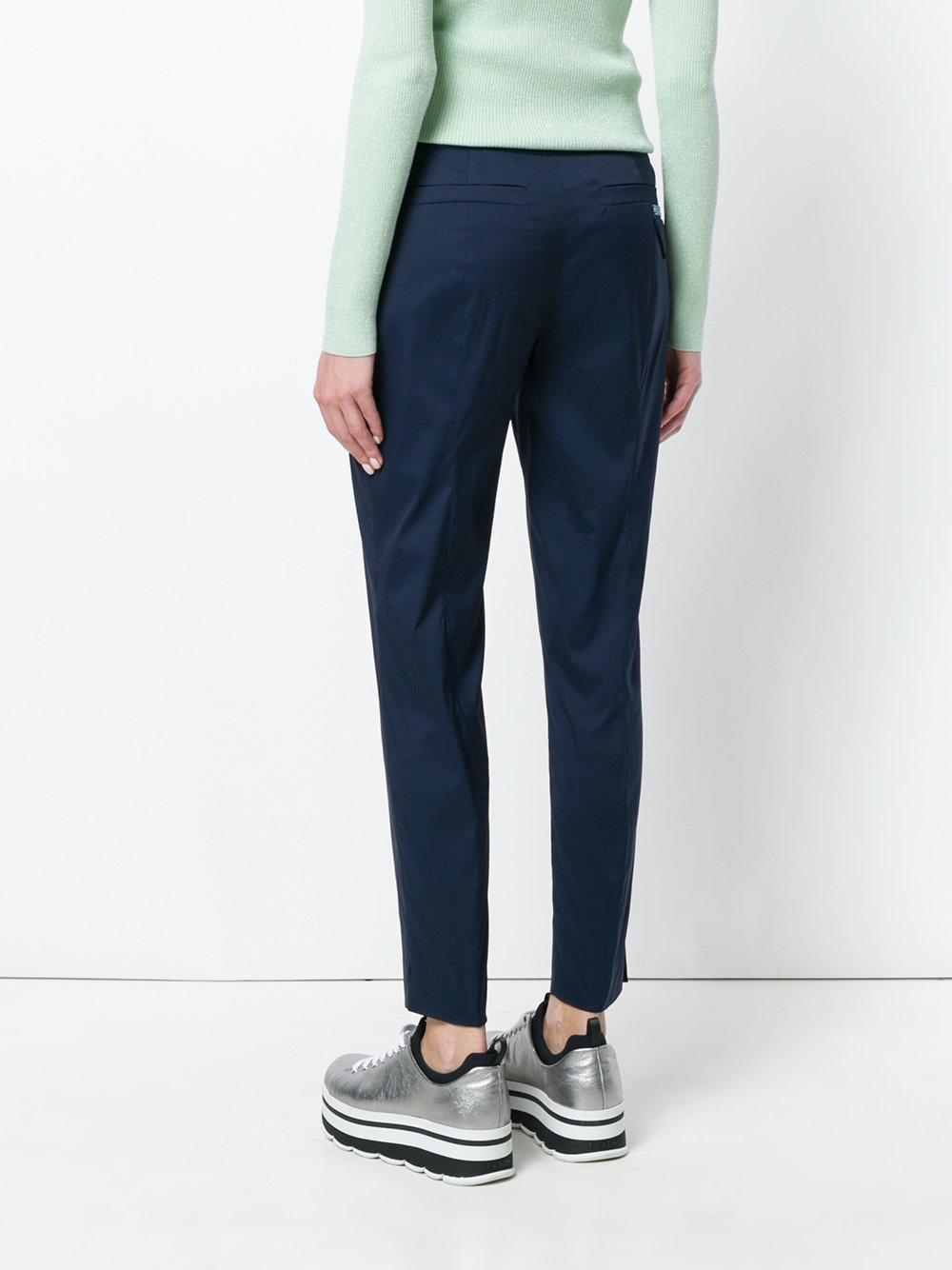 cropped tailored trousers - Blue Prada ETxOOb