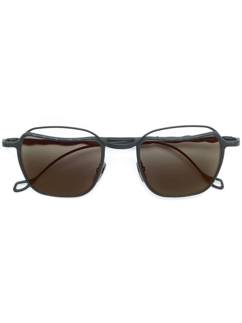 1d96caee696 Lyst - Kuboraum Square Tinted Sunglasses in Black for Men