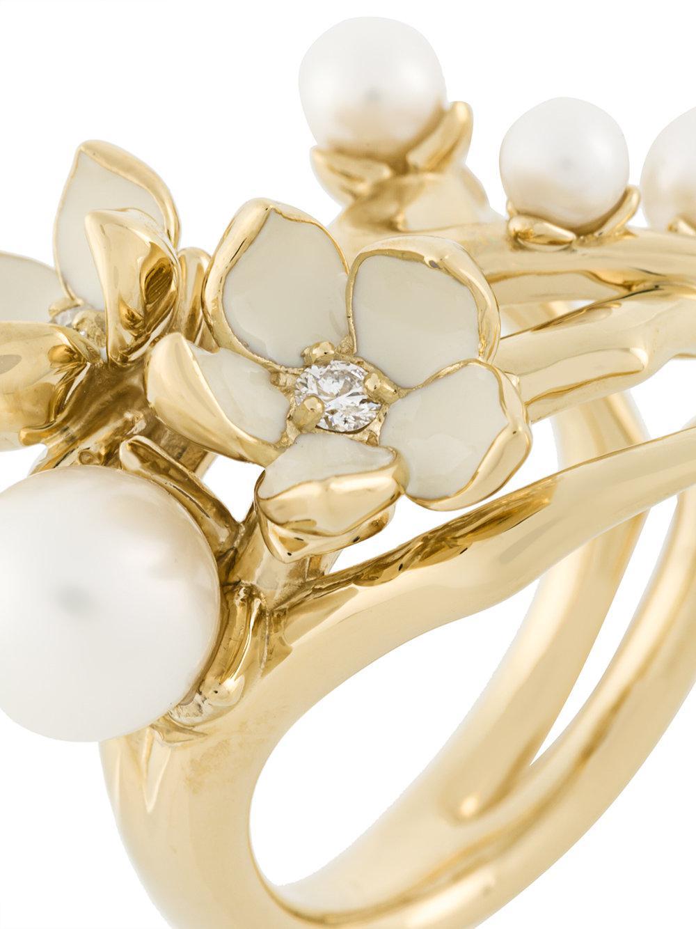 Cherry Blossom diamond ring - Metallic Shaun Leane qkvcEX