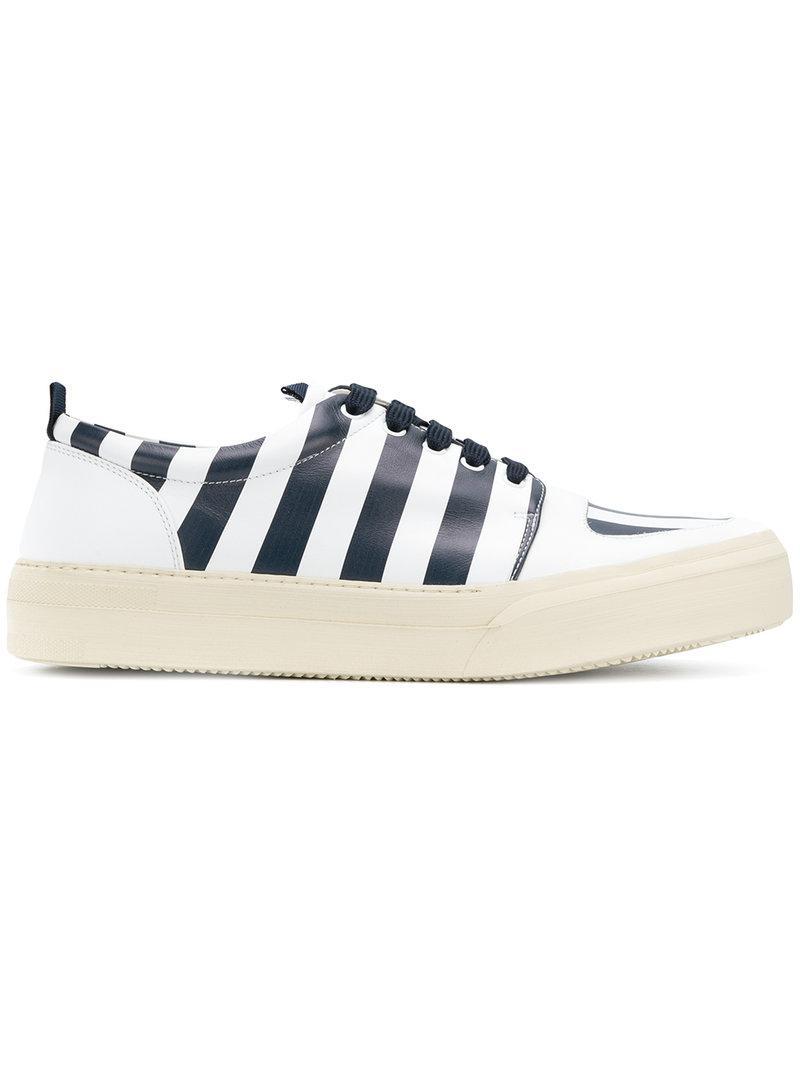 SUNNEI Striped sneakers 6JgP4mwK9