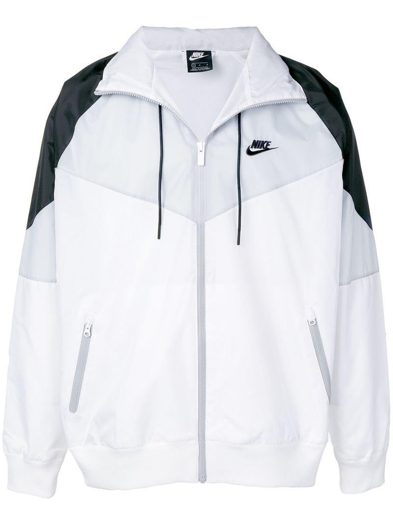 fc666d561a28 Nike - White Windrunner Jacket for Men - Lyst. View fullscreen