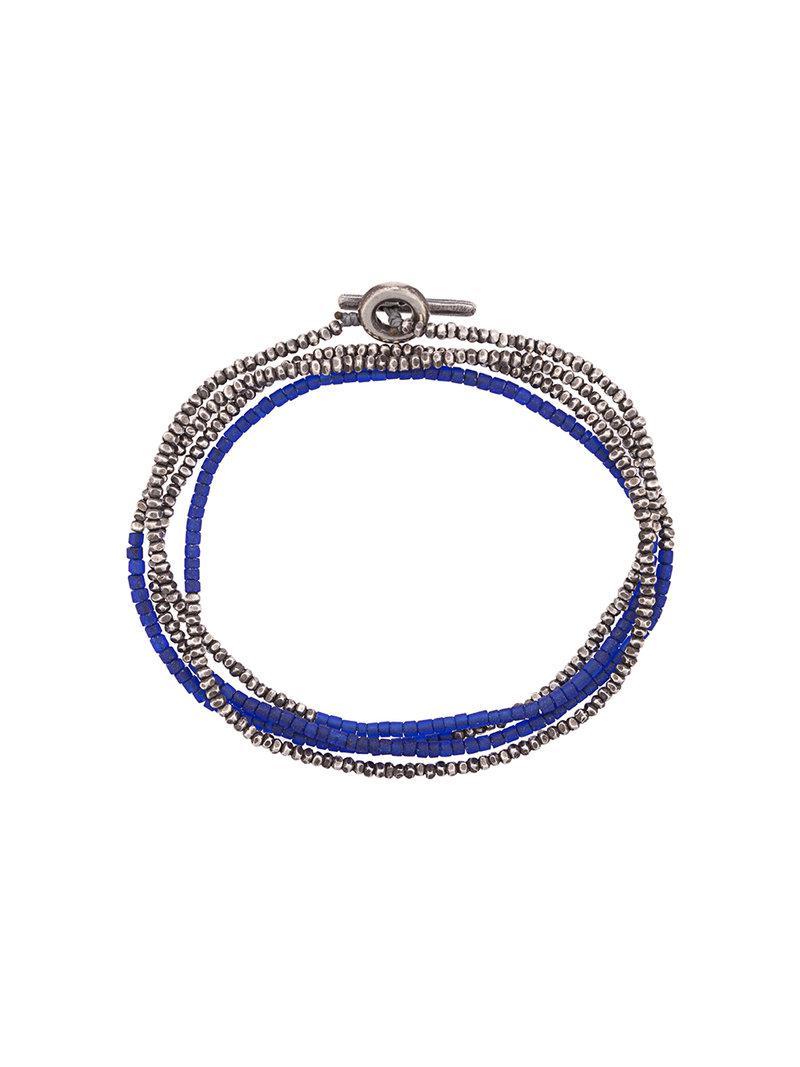 M. Cohen tonal beaded bracelet - Blue oYob0yjj0X