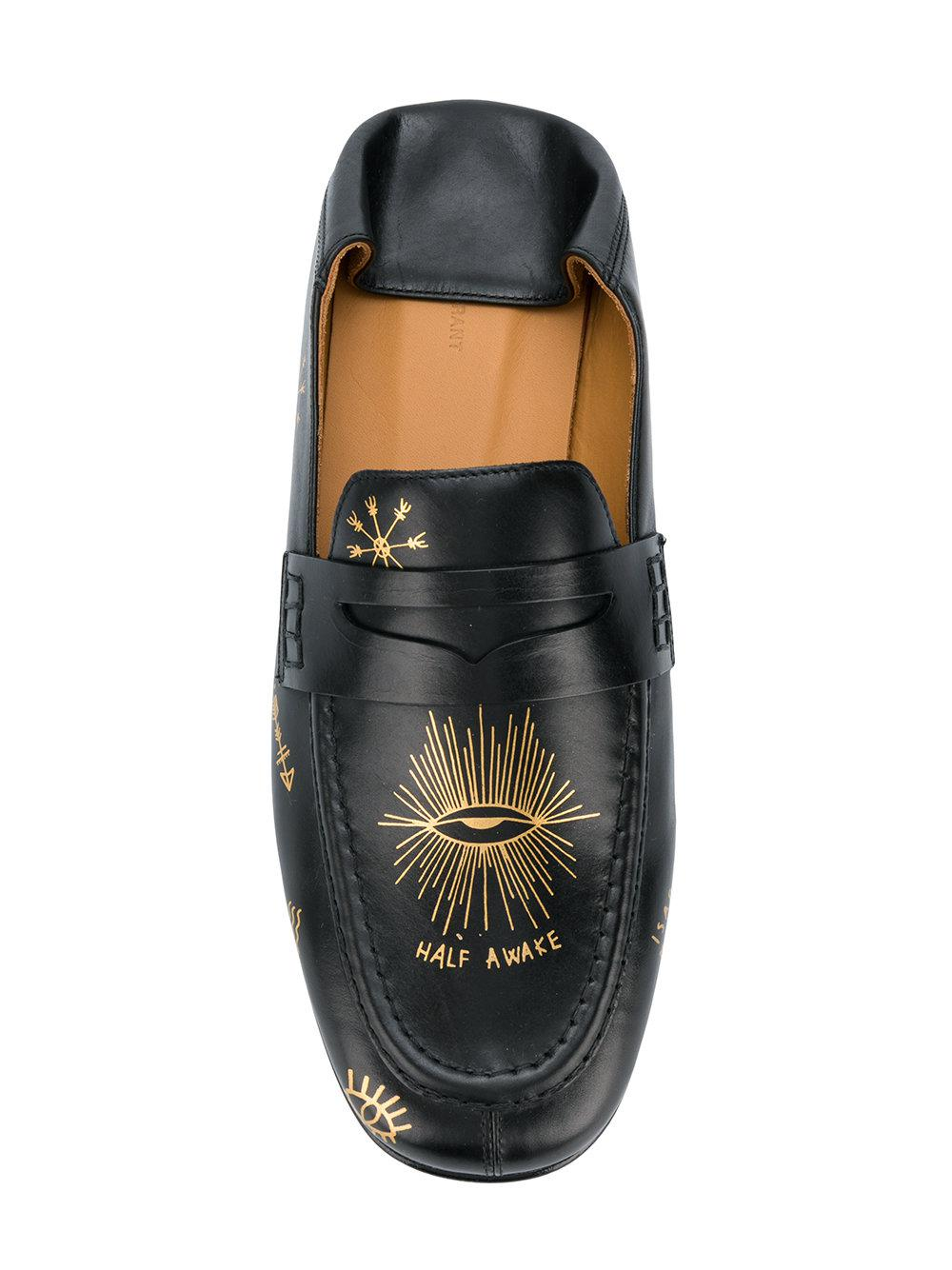 d0ef37b707c Lyst - Isabel Marant Fezzy Loafers in Black