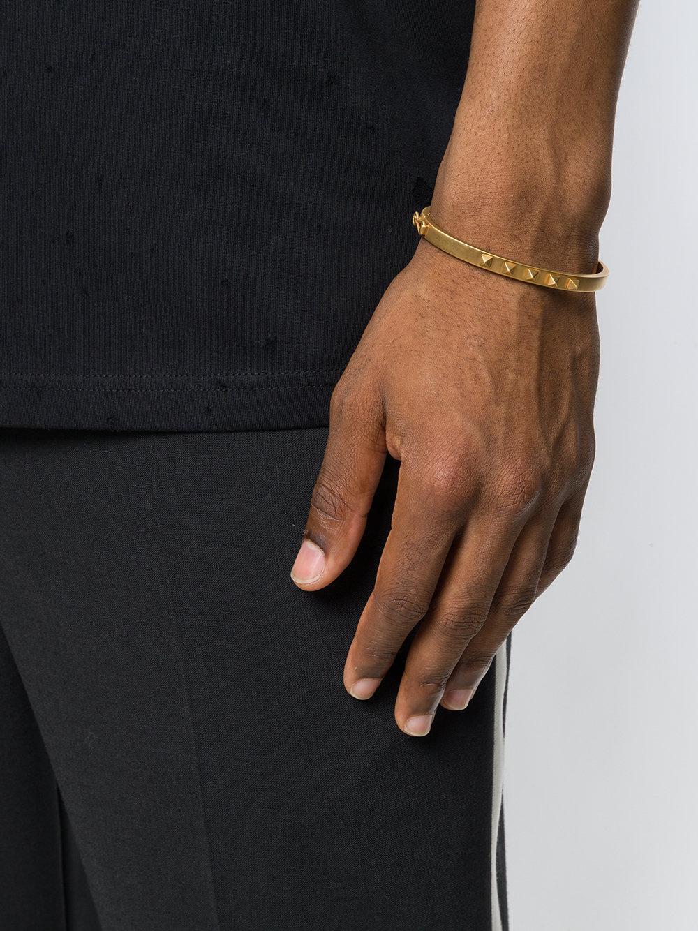 Northskull Yazd Bangle bracelet - Metallic JiAjiT
