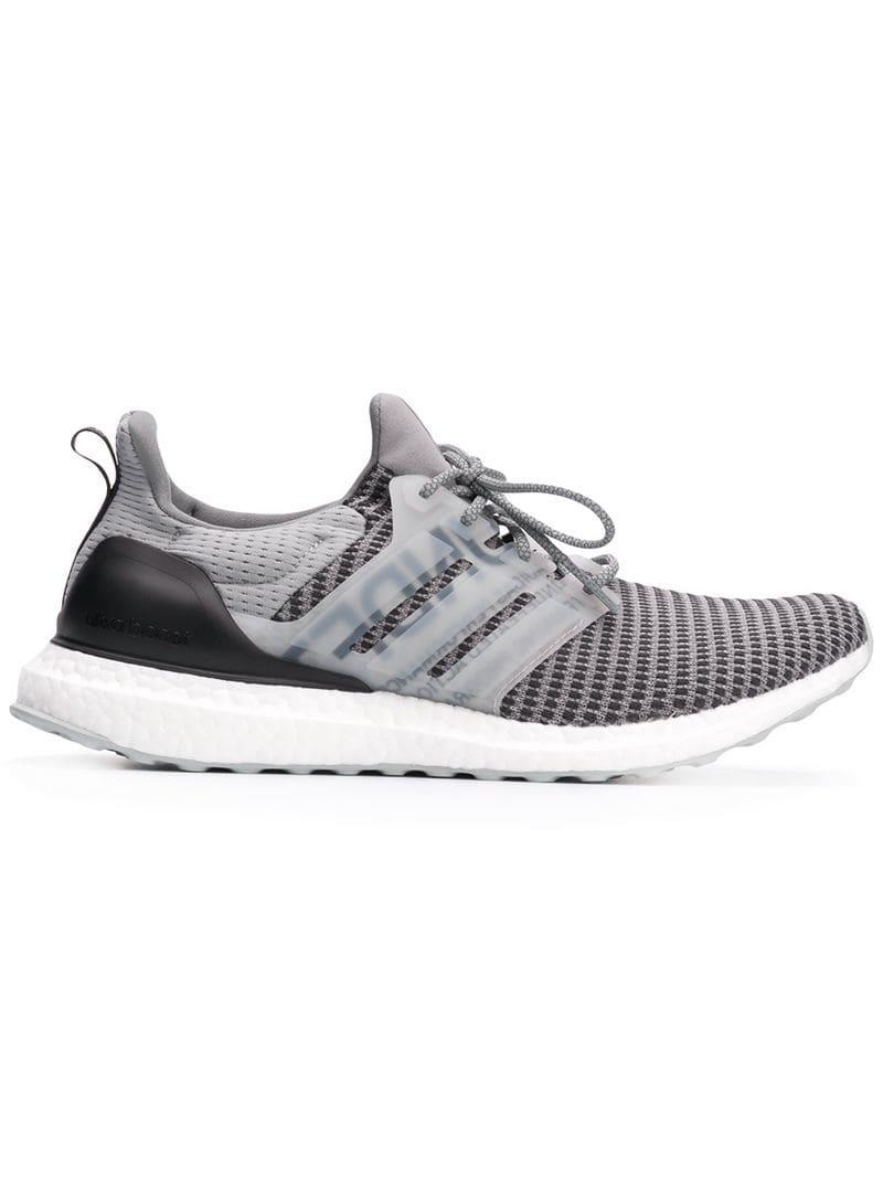 5c4a4fb0d Lyst - adidas X Undefeated Ultraboost Sneakers in Gray for Men