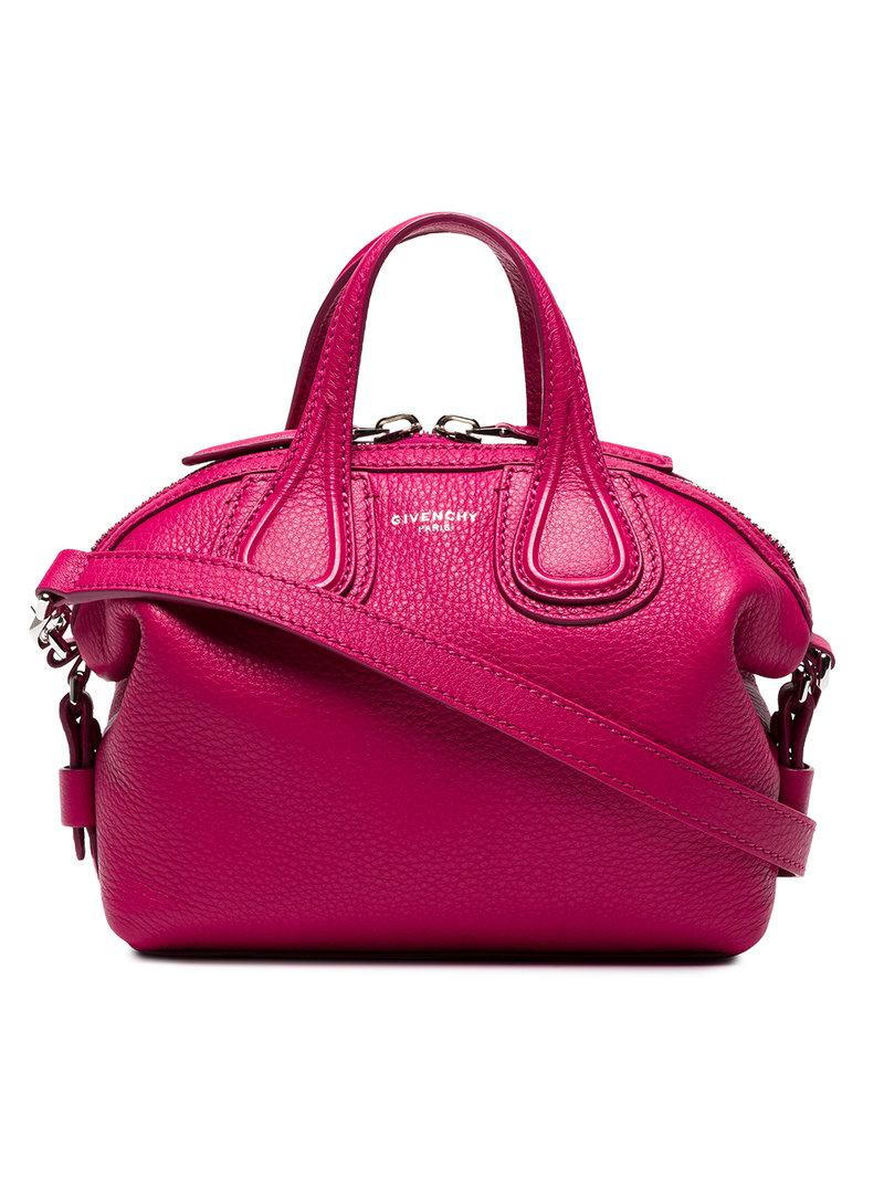 Givenchy - Mini Pink Nightingale Bag - Lyst. View fullscreen e7112a14acf3e
