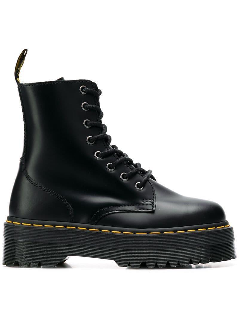 7857928b8571 Lyst - Dr. Martens Jadon Platform Boots in Black