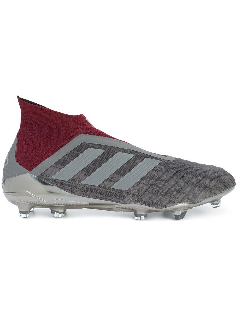 half off b9943 9f504 adidas Paul Pogba Predator Sneaker Boots in Gray for Men - Lyst