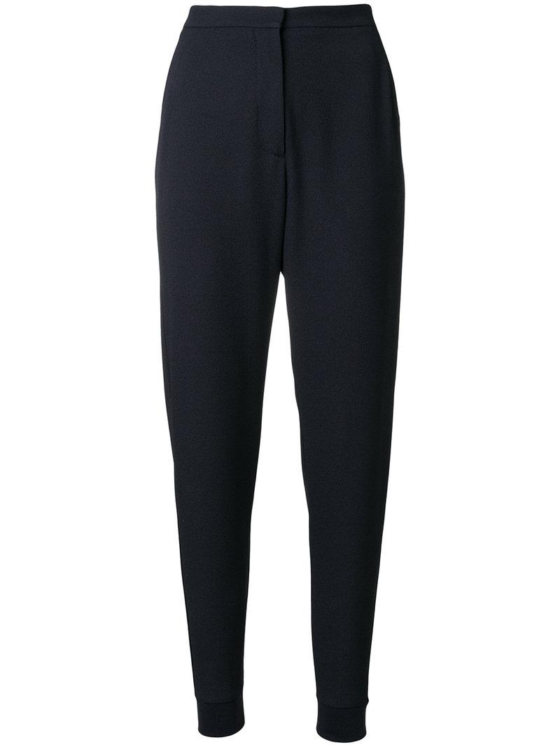 tapered trousers - Blue See By Chloé Newest LhqUhUao