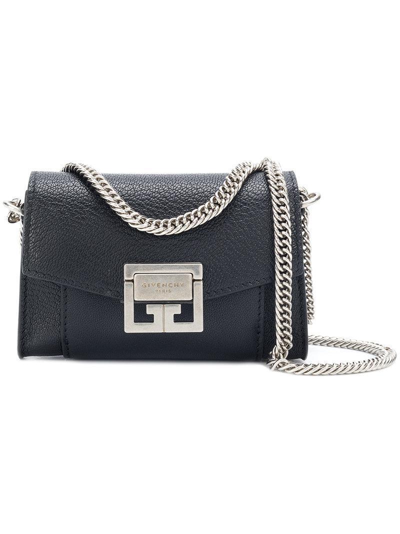 2116bed7bb09 Givenchy Gv3 Nano Bag in Black - Lyst