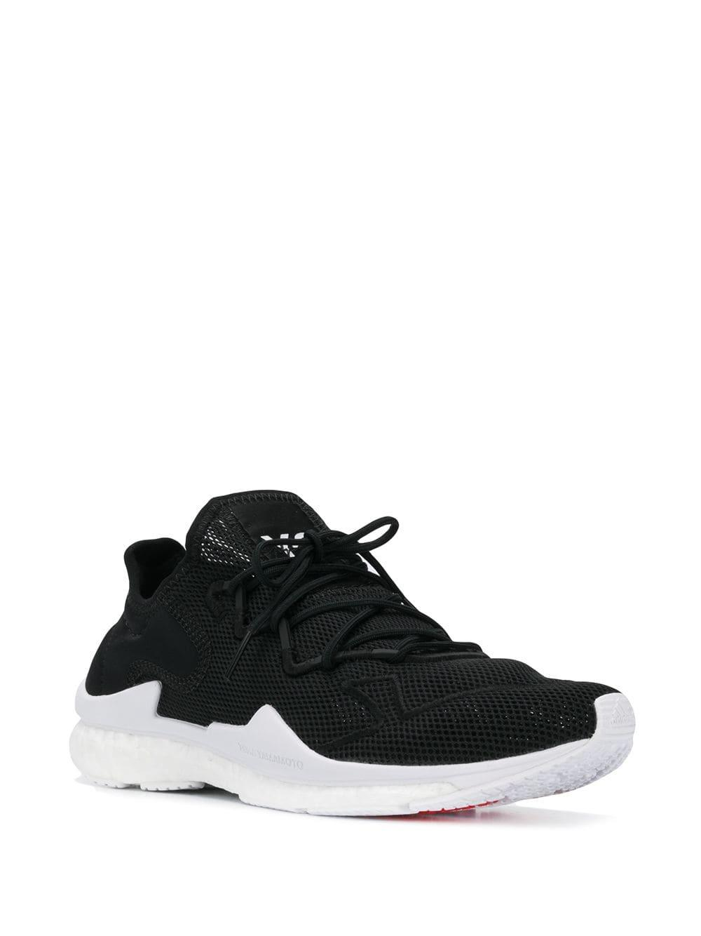 47244b1dc Lyst - Y-3 Mesh Low Top Trainers in Black for Men
