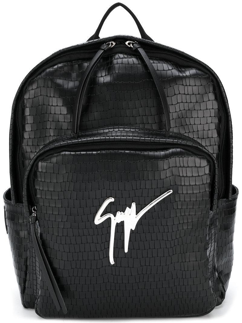 0cf895112b08 Lyst - Giuseppe Zanotti Cary Backpack in Black for Men