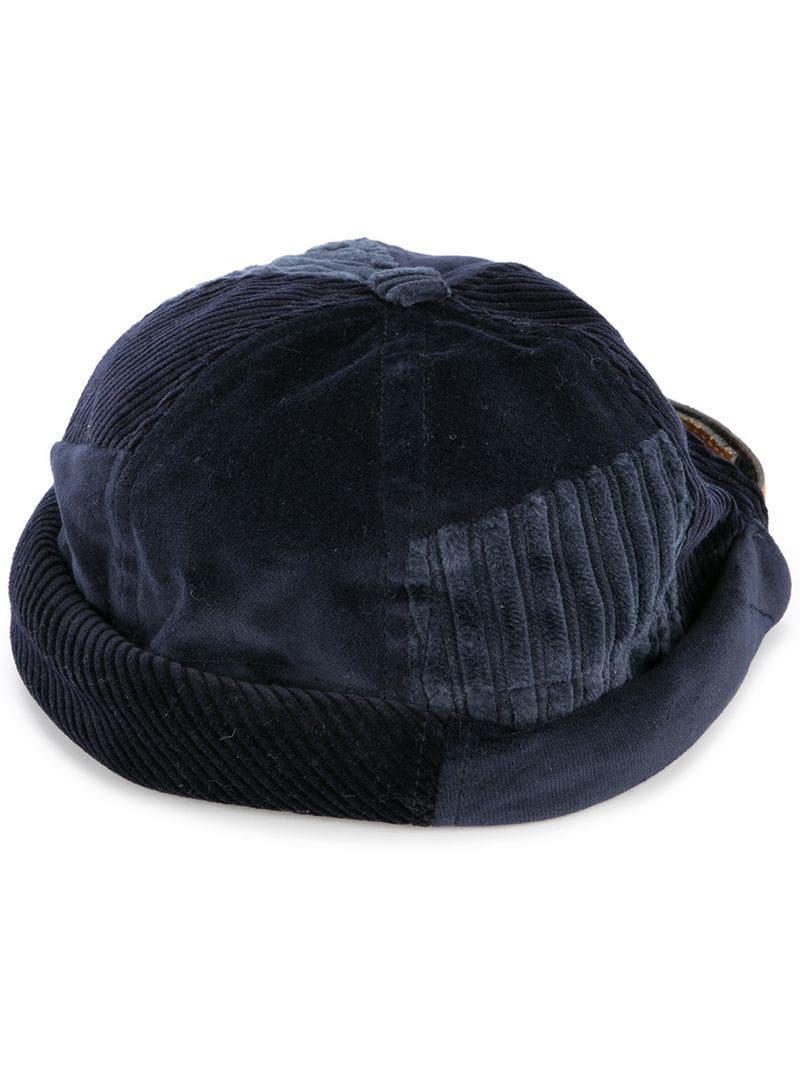 50a33825dd1 Beton Cire Moussailion Hat in Blue - Lyst
