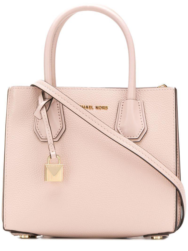 5510181d3037 Lyst - Michael Michael Kors Mercer Tote Bag in Pink