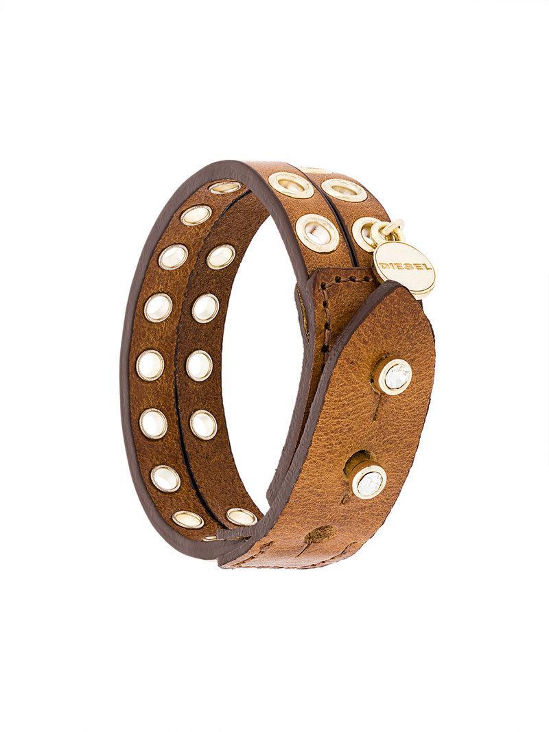Diesel A-Hoddelas bracelet - Brown R0EZO