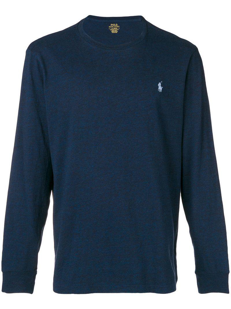 Lyst - Camiseta con manga larga Polo Ralph Lauren de hombre de color ... 1b9de4d53cf