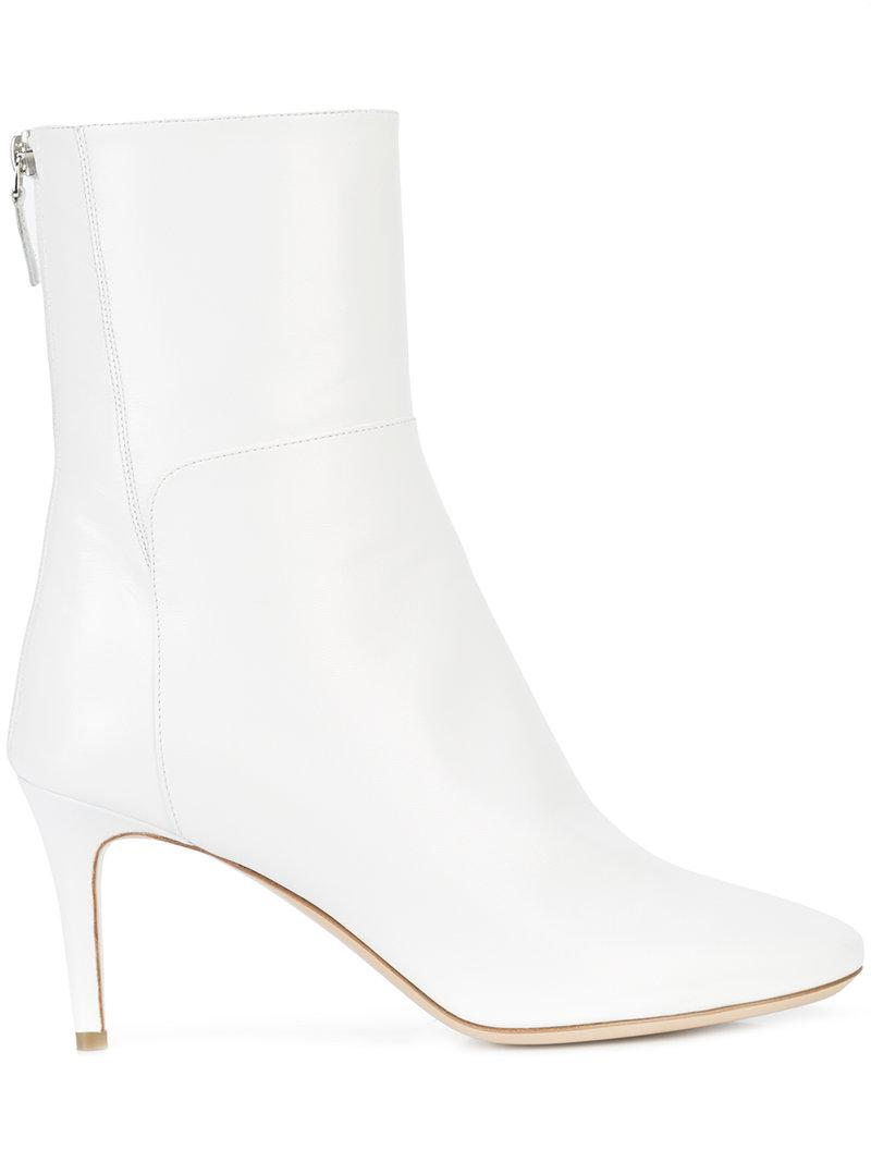 Monique Lhuillierrear zip ankle boots