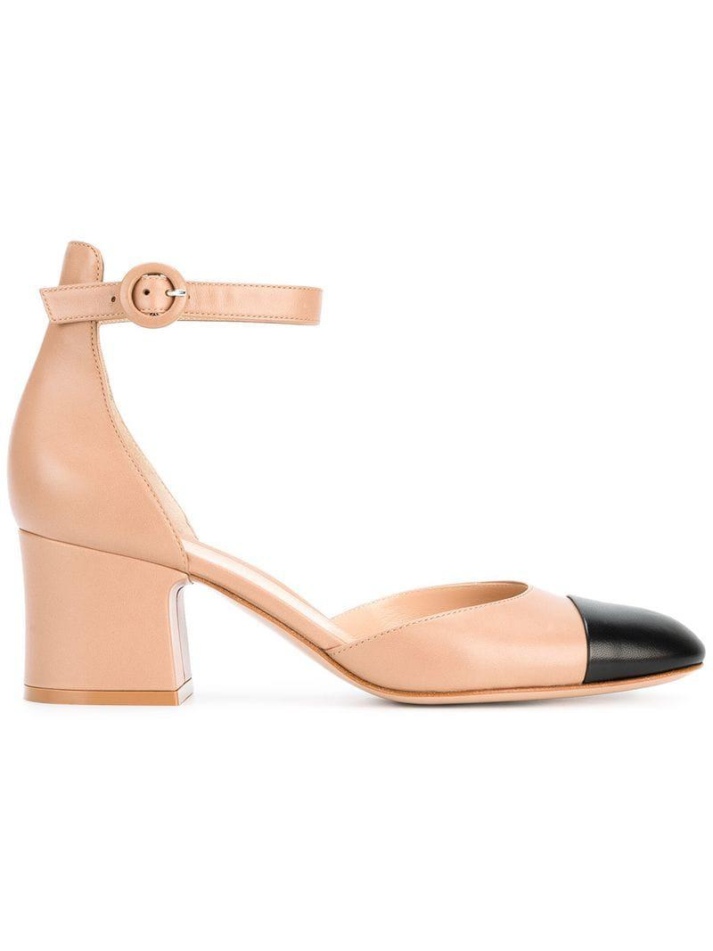 a8266a428073d Lyst - Gianvito Rossi Ankle Strap Pumps