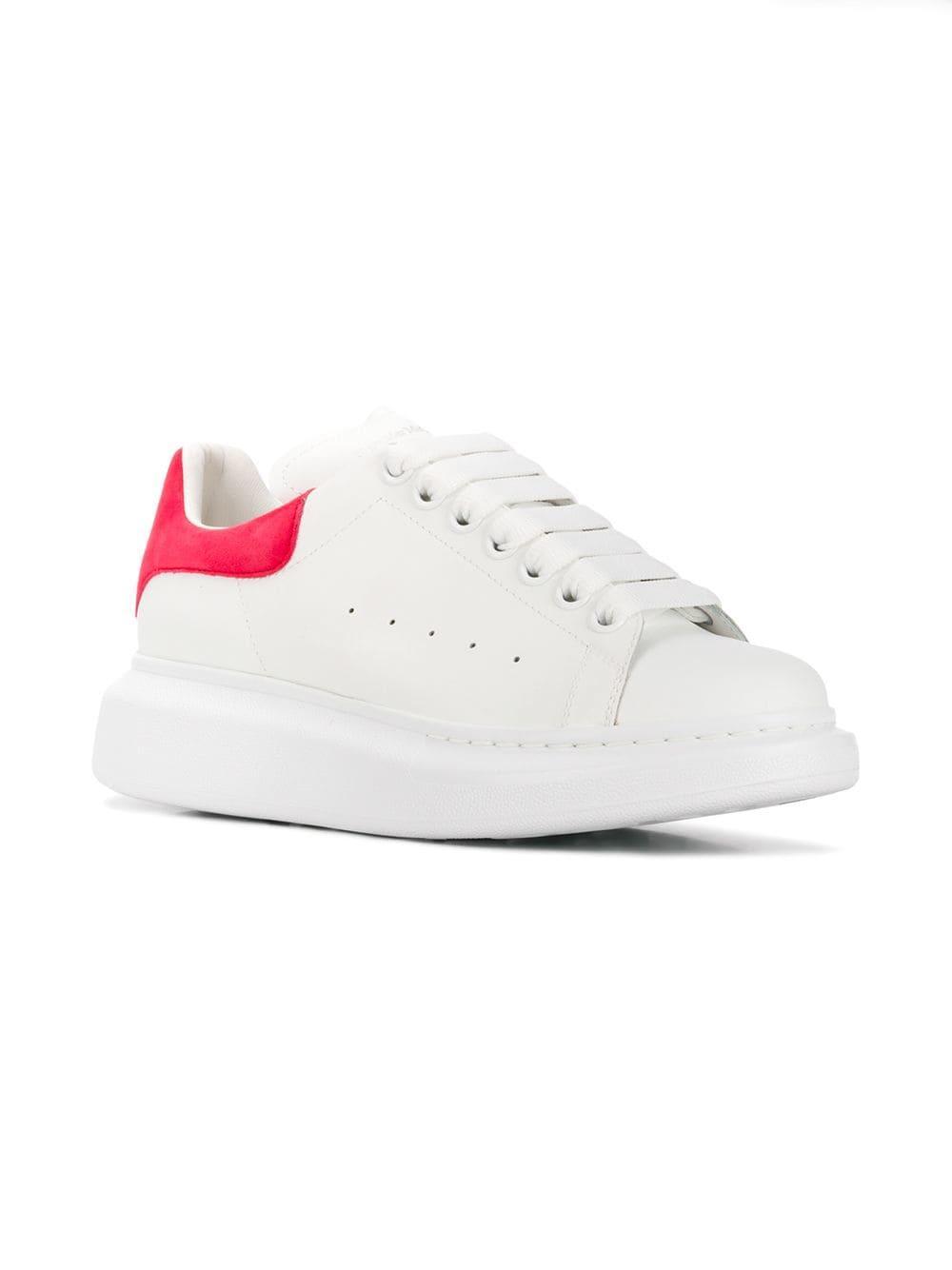 38201ea080d9 Alexander McQueen - White Oversized Sole Sneakers - Lyst. View fullscreen