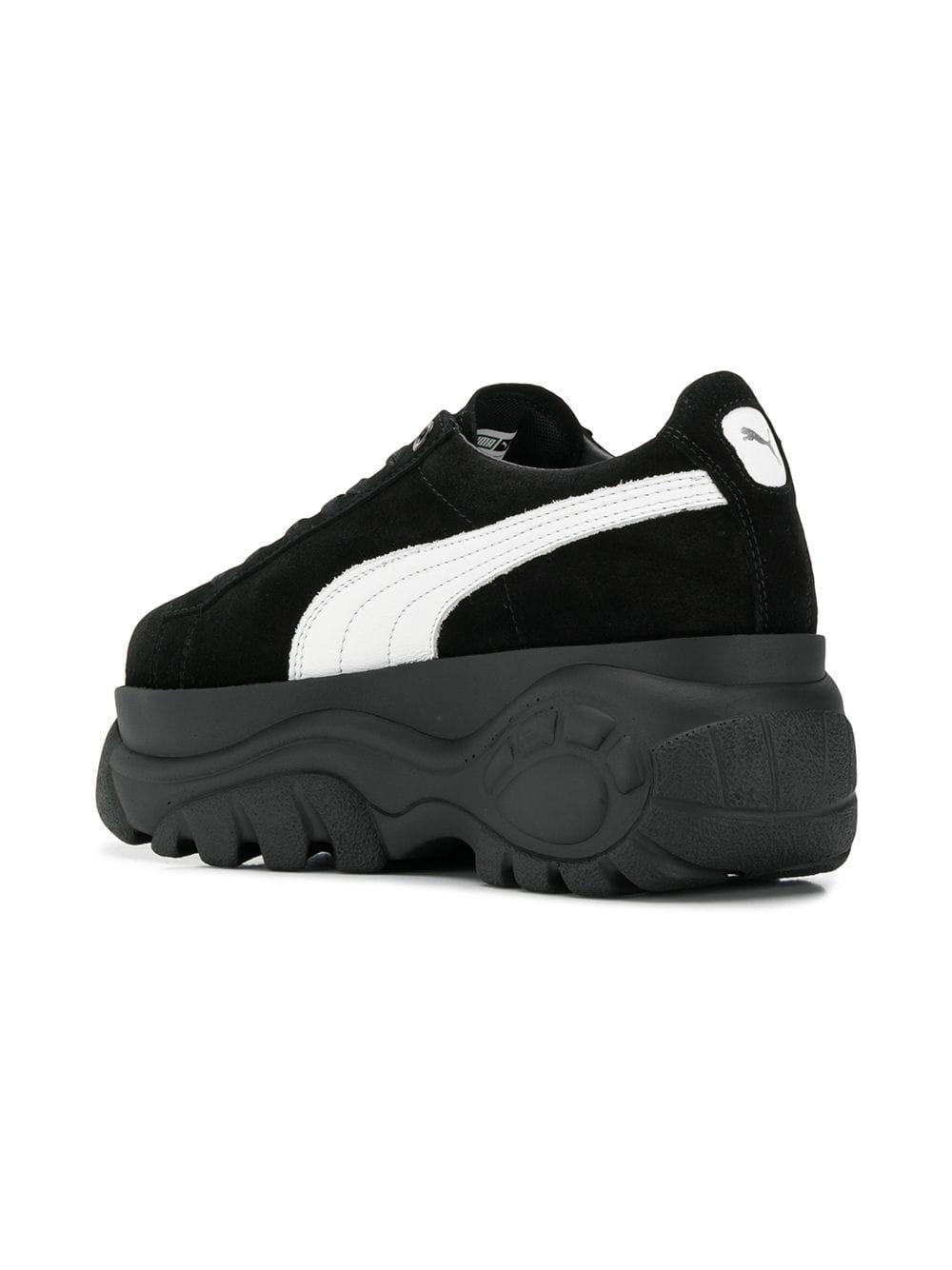 bb74927403f4 PUMA - Black Classic X Buffalo Platform Sneakers - Lyst. View fullscreen