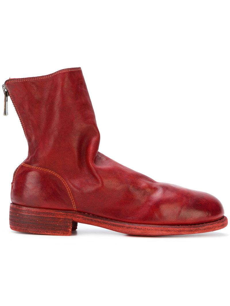 Amazing Price Sale Online Sale Free Shipping mid-length boots - Red Guidi Clearance Shop For bs24m