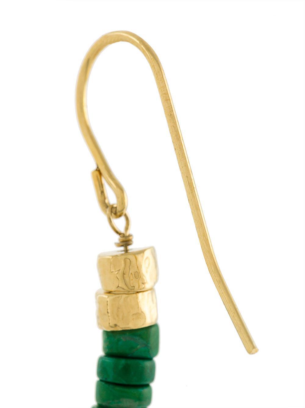 Aurélie Bidermann Sioux pompon earrings - Metallic zYHTNhd