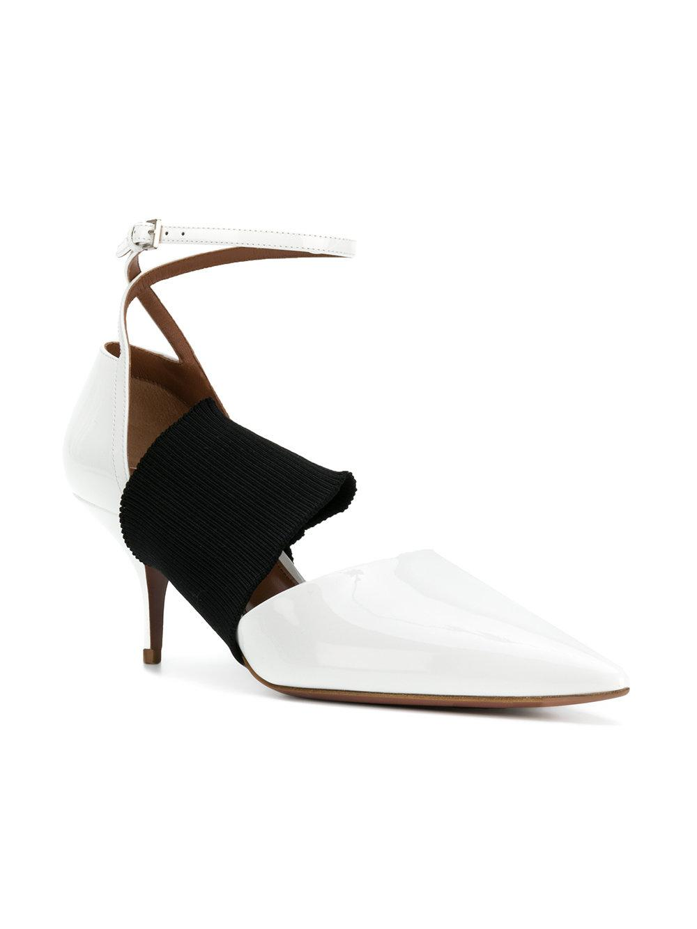 outlet cheapest price Sportmax ribbed strap pumps cheap sale visit bNORj