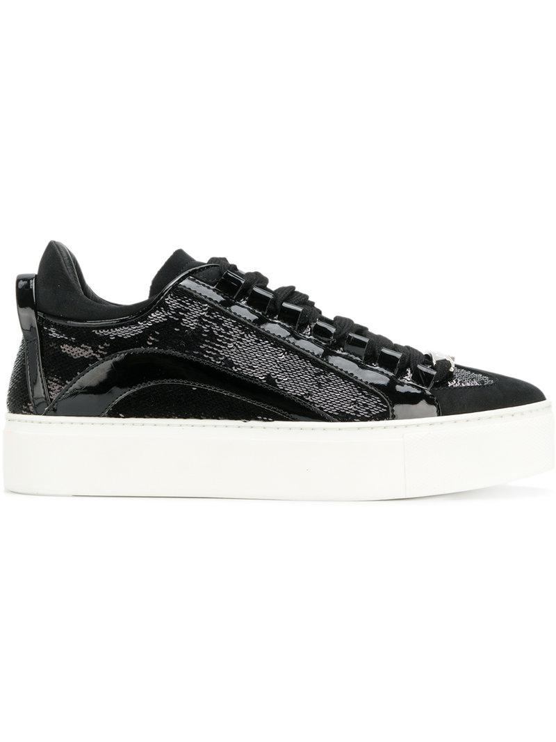 Dsquared2 sequin-embellished sneakers free shipping eastbay exclusive cheap price discount great deals lowest price cheap online discount enjoy WmWJVPj