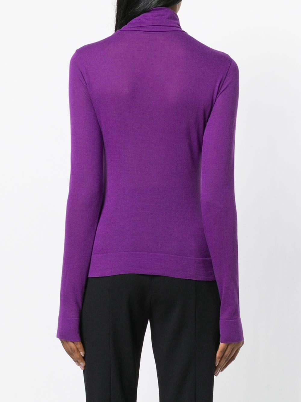 Цвет Пурпурный Sweater Turtleneck Lyst Pinko wqpZTH8