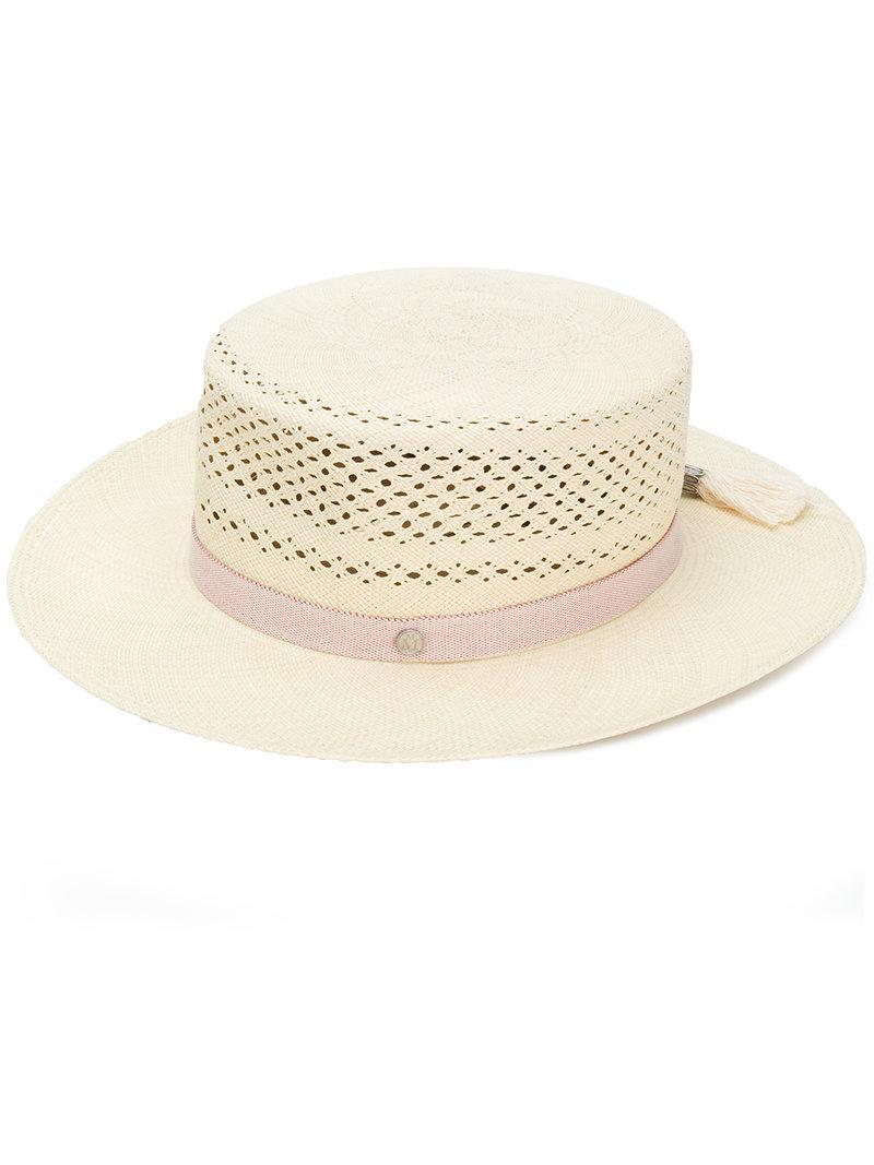 Kiki hat - Nude & Neutrals Maison Michel gPtPt