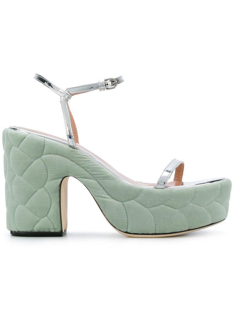 quilted sandals - Metallic Marco De Vincenzo ExLAV1