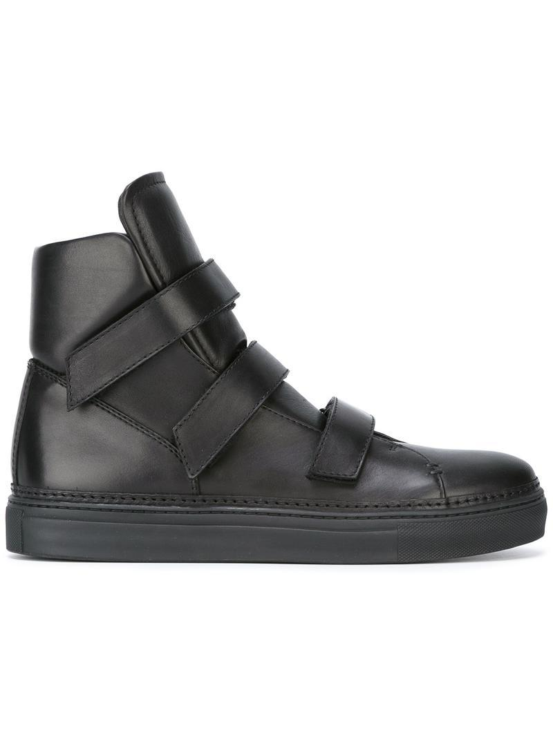 Ann Demeulemeester oversize tongue hi-top sneakers pay with visa cheap online discount genuine discount finishline outlet recommend clearance get to buy BnpPkvXLZ