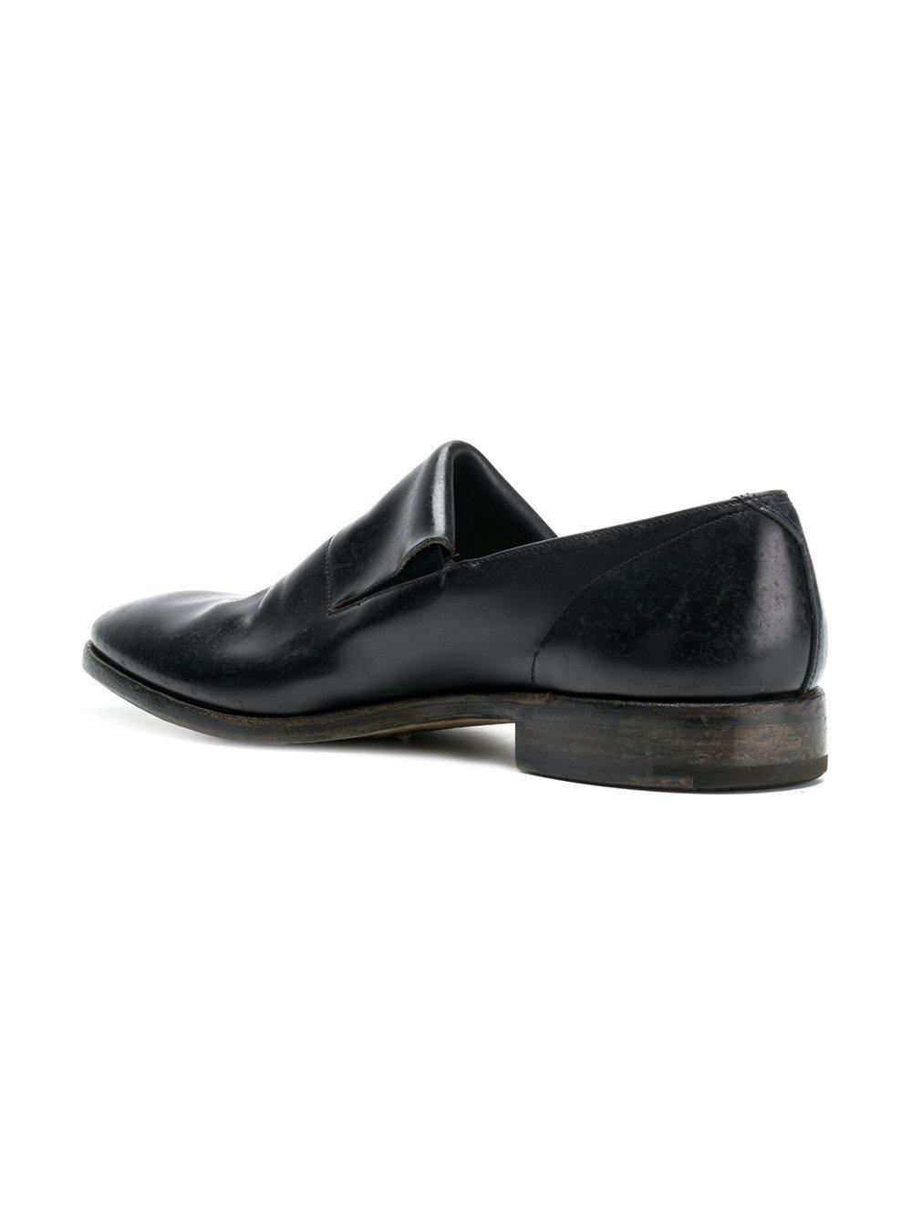 varnished slip-on loafers - Black Premiata 3pFjLo