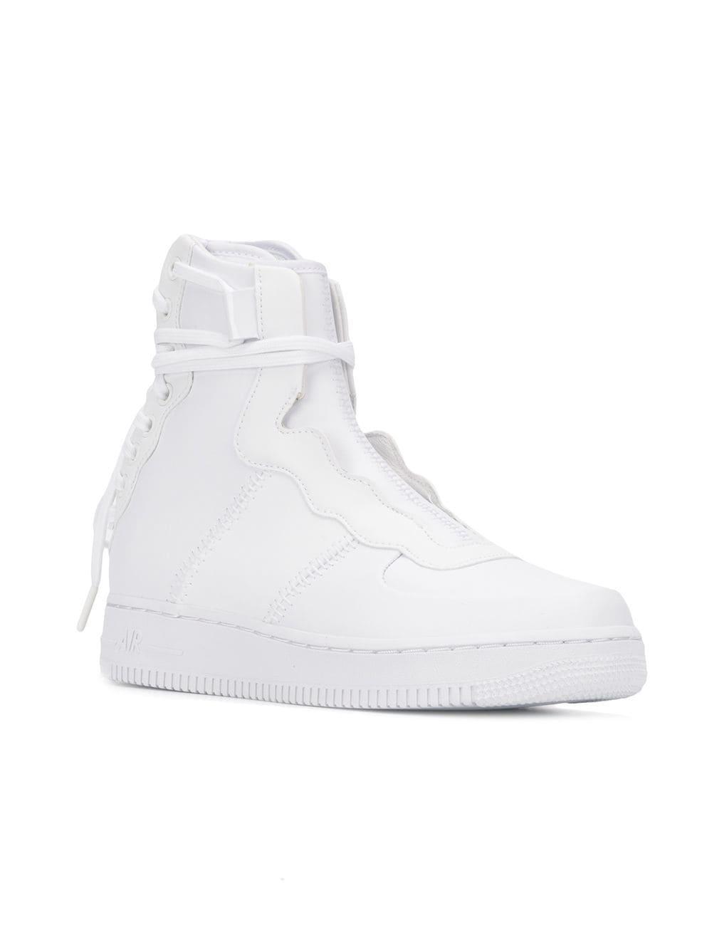 7989824947b7 Nike - White Air Force 1 Rebel Xx Sneakers - Lyst. View fullscreen